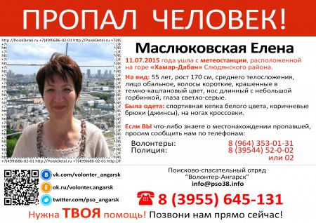 Маслюковская Елена